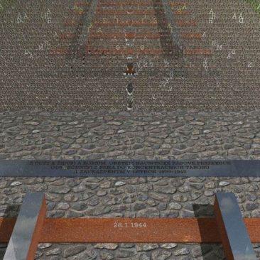 Návrh památníku Holocaustu