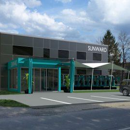 Návrh provozovny SUNWARD – Baška