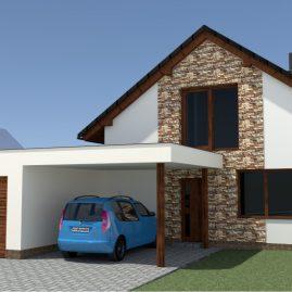 Novostavba rodinného domu – Kozlan